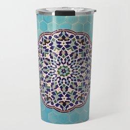 Yazd Tilework Travel Mug