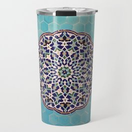 Yazd Tilework Travel Mug