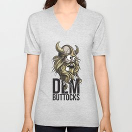 Viking Dem Buttocks Unisex V-Neck