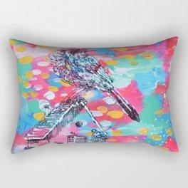Bird and Ballerina Rectangular Pillow