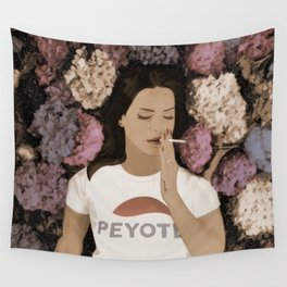 Peyote Field Wall Tapestry