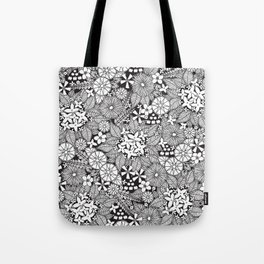 Wild Wallflowers Tote Bag