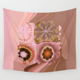 Paranosic Being Flower  ID:16165-061019-67020 Wall Tapestry