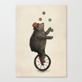 The Juggler (color option) Canvas Print