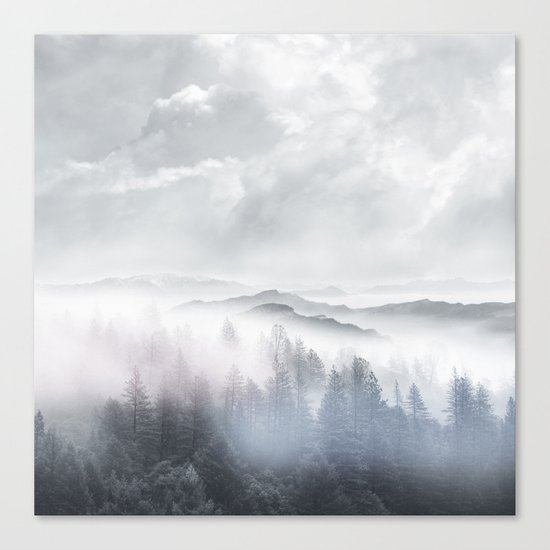 Magic in the Clouds V Canvas Print