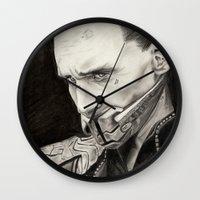 loki Wall Clocks featuring Loki by Ruth Ms