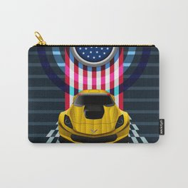 The Yellow King Corvette C7 Carry-All Pouch