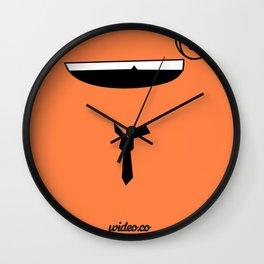 MR WIDEO Wall Clock