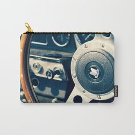 Old Triumph Wheel / Classic Cars Photography Carry-All Pouch