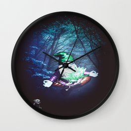 Mysterious Connection Wall Clock