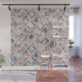 Marble Moroccan Tile Pattern Wall Mural