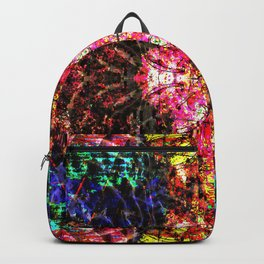 Living Spring Layered in Pink Backpack
