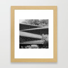 Roofs of Kengo Kuma 2 Framed Art Print