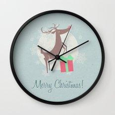 Merry Christmas! Wall Clock