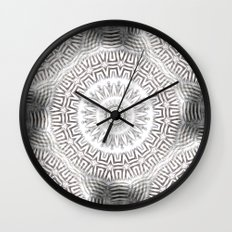 METAL Element Kaleido Pattern Wall Clock