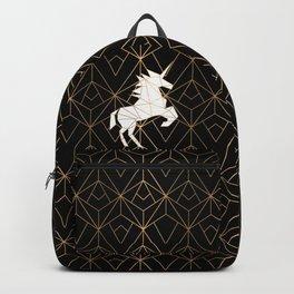 Geometric Unicorn Backpack