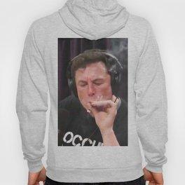 Elon Musk Smoking Weed Hoody