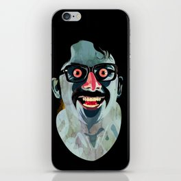 Portrait of Alonso Quijada iPhone Skin