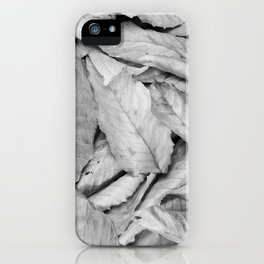 Boxed Organics - Leaves iPhone Case