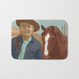 The Lone Ranger Bath Mat