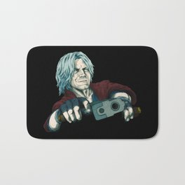 DMC5 DISTILLED:  Jackpot Dante Bath Mat