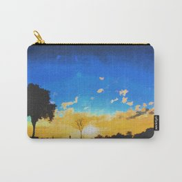 Before dusk melted colors of the world. Carry-All Pouch