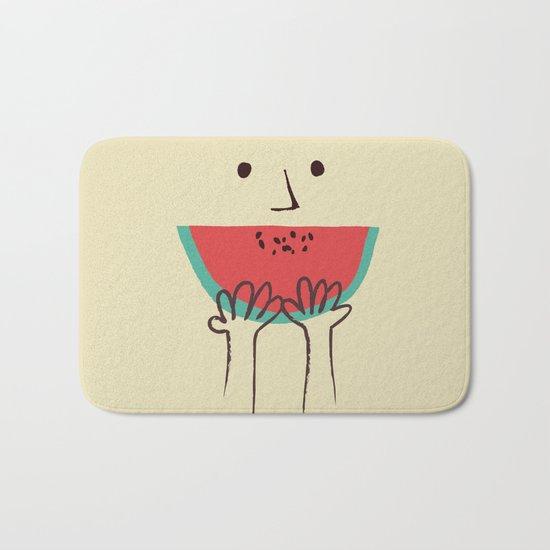 Summer smile Bath Mat