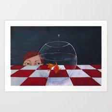 goldfish Art Print