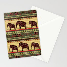 African motifs. Stationery Cards