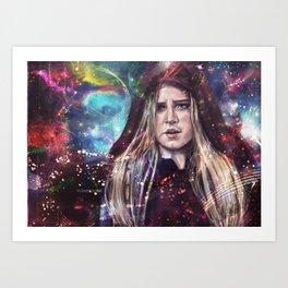 Solar Storm pt 2 Art Print