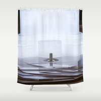 wiz khalifa Shower Curtains featuring Dubai - Burj Al Khalifa Model by gdesai