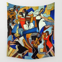 Salsa Salvaje Wall Tapestry