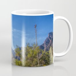 Desert Flowers in the Anza-Borrego Desert State Park, Southern California Coffee Mug