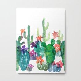 Blooming Desert Metal Print