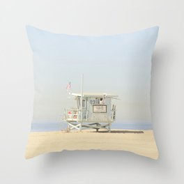 NEVER STOP EXPLORING VENICE BEACH No. 23 Throw Pillow