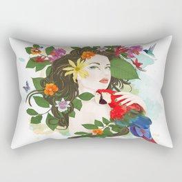Goddess Amazon Rectangular Pillow
