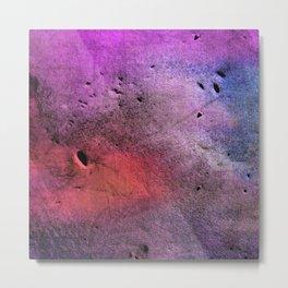 Colorful Scars Metal Print