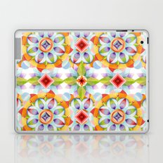 Flower Garden Kaleidoscope Laptop & iPad Skin