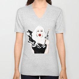Sharon Needles, RuPaul's Drag Race Queen Unisex V-Neck