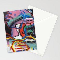 Self Reflectionism by Amos Duggan Stationery Cards