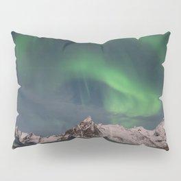 Northern Lights Over Lofoten Pillow Sham