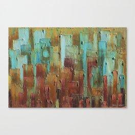 Copper Shale Awash Canvas Print