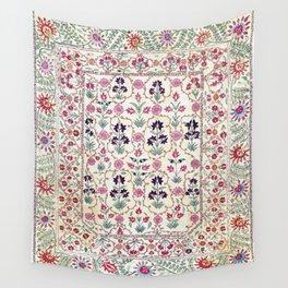 Ura Tube Suzani Uzbekistan Embroidery Print Wall Tapestry