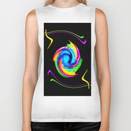 Abstract perfection -100 Biker Tank