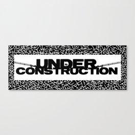 Under Construction Ground Canvas Print