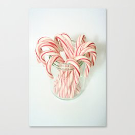 Candy Cane Delight Canvas Print