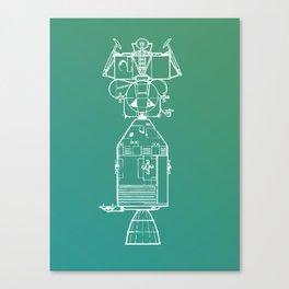 Real Spaceship Canvas Print