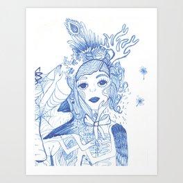 Roadtrippin Art Print