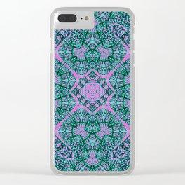 Mehndi Ethnic Style G457 Clear iPhone Case