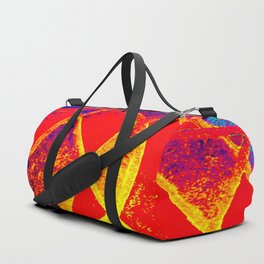 on fire Duffle Bag